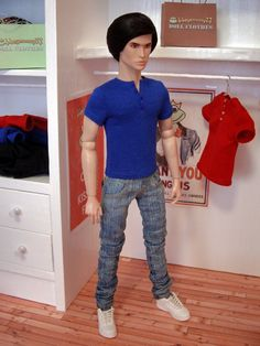 Fashion Royalty Homme male doll size sixth by DollClothesStore, $39.00