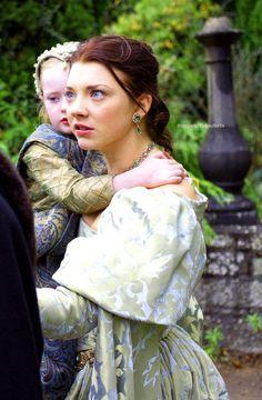 The Tudors  Anne and Princess Elizabeth