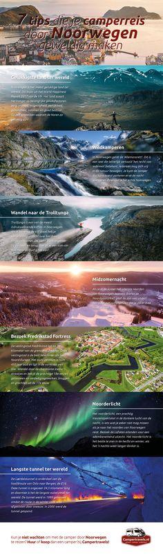 #Infographic #Noorwegen #Norway #Camperreis #Camperhuren #7tips