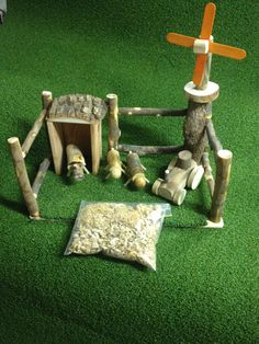 Wooden Farm Set $45.00. https://www.etsy.com/au/shop/TreebranchKids?ref=hdr_shop_menu