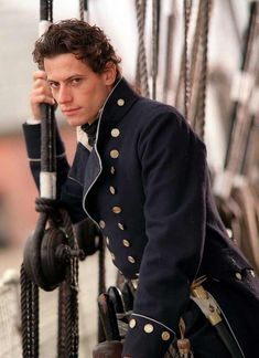 Ioan again in Hornblower costume for those who prefer that