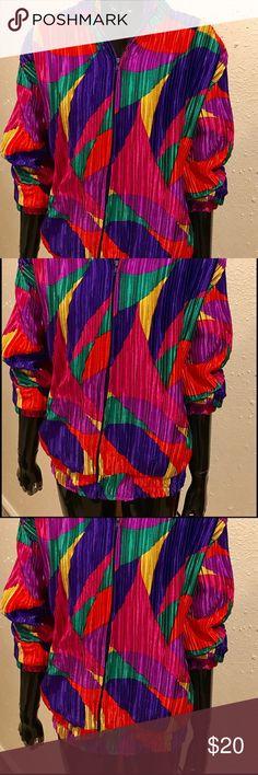 Vintage Color-block Jacket Vintage Color-Block Jacket Vintage Jackets & Coats Utility Jackets