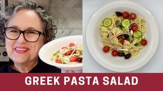 Frugal, Greek Salad Pasta, Light Recipes, The Creator, Yummy Food, Meals, Healthy, Ethnic Recipes, Drink