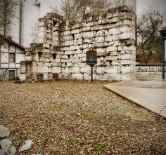 Alton's historic Civil War era military prison wall