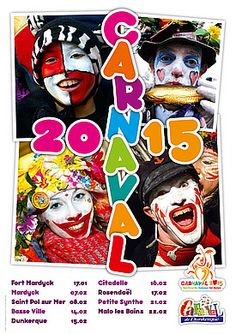 Le carnaval de dunkerque et autres carnavals du Nord et de la Flandre