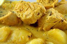 Kuřecí maso na kari při hubnutí Mashed Potatoes, Weight Loss, Meat, Chicken, Ethnic Recipes, Desserts, Custo, Food, Beef