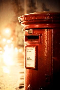 British Post box Post Box Vintage, Antique Mailbox, Telephone Booth, Love Post, Red Aesthetic, Mail Art, Love Letters, Post Office, Poster