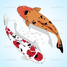 Google Images Clip Art free of fish | Carp. Koi Fish Vector greeting card - Stock Illustration