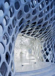 #Architecture #Shapes: The Romanticism Shop by SAKO #Architects in Hangzhou, China