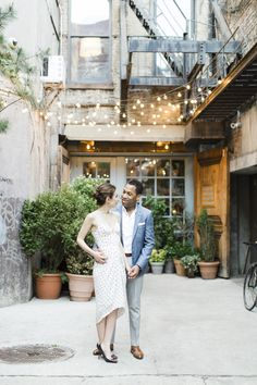 Chic + Modern Lower East Side Engagement Session