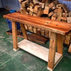 New up-cycled Lathe table