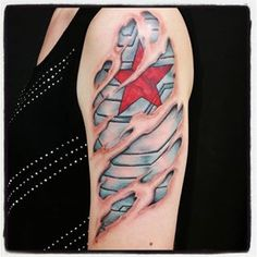 the winter soldier tattoo - Google Search
