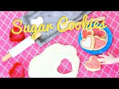 How to Make Doll Sugar Cookies - YouTube cookies, cookie sheet, cookie cutters and spatula to lift cookies from cookie sheet tutorial
