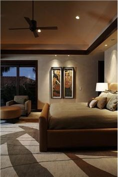 Contemporary (Modern, Retro) Bedroom by Gina Willman