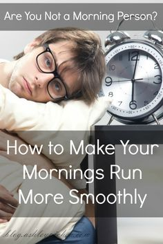 Do you struggle with mornings like I do? Click here for tips to help make mornings more manageable...
