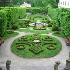 Gardens of Kromenz - Czech Republic - European baroque gardens - UNESCO site