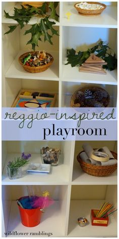Creating a Reggio inspired playroom with