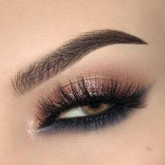 Reverse cat eye with Make Up For Ever Star Lit Powders and Esqido Lashes (perfect for hooded lids)