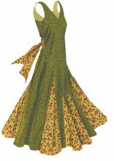Gown Patterns For Women   funky designs vibrant colors floral patterns on the dresses are