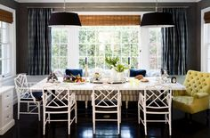 Banquette & Dining Room Table