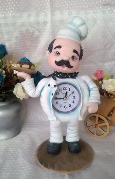 Relojchefe de biscuit.
