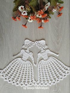 Crochet doily Crinoline Lady Doily lace Applique girl home decoration Christmas gift - Crochet Ideas Crochet Gifts, Crochet Doilies, Crochet Flowers, Crochet Lace, Lace Doilies, Crochet Motif, Doily Patterns, Applique Patterns, Crochet Patterns