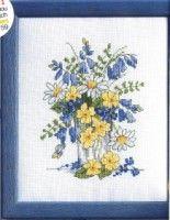Spring Flowers (Pg 1 of Cross Stitch Tree, Cross Stitch Books, Cross Stitch Cards, Cross Stitch Flowers, Cross Stitch Kits, Cross Stitch Designs, Cross Stitching, Cross Stitch Embroidery, Cross Stitch Patterns