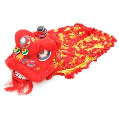 f18017aba Chinese lion costume - Red & Gold. Lion Dance CostumeDance CostumesChinaFolk  DanceChinese New YearChinese ...