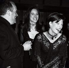 Linda Evangelista e Christy Turlington - CFDA, 1993.