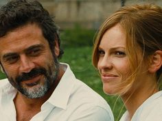 """Jeffrey Dean Morgan with Hilary Swank in """"The Resident"""" (2011)"""