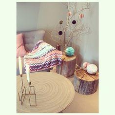 Instagram photo by ann_ingrid - Bildet nr4 i fargeutfordringen fra flotte @frunn Farger + natur = love it Teppet er ikke av merke Missoni...,men fra Nille Godt tips der altså, tenker jeg#dagensinterior #finahem #tipstilhjemmet #nordiskrom #nordiskehjem #vakrehjem #boligpluss #interiørmagasinet #interior4all
