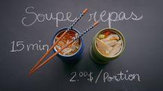 Soupe-repas à l'asiatique (dans un thermos) | Cuisine futée, parents pressés
