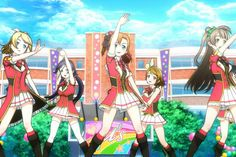All About the Love Live! School Idol Project Anime Series and Movies: The u's in…