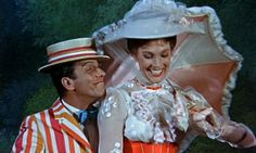 "Julie Andrews when asked if Mary Poppins and Bert ever ended up together: ""I hope so. She wouldn't admit it, but I do hope so."""
