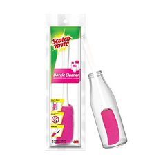 Scotch-Brite Plastic Bottle Cleaner Brush (Pink and White) Scotch-Brite Bottle Cleaner, Brush Cleaner, Baby Bottles, Plastic Bottles, Water Bottles, Bottle Feeding, Pattern Names, Baby Feeding, Iodized Salt
