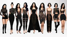 All About Lace Pt. 2 1. Hair [xx] - @adedarma ... - Immortalsims