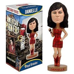 American Pickers Items for Sale | American-Pickers-Danielle-Colby-Cushman-Bobblehead-Free-Shipping-New