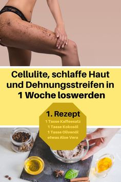 Die erfolgreichsten 7 DIY Cellulite Creme Rezepte – The Most Successful 7 DIY Cellulite Cream Recipes When it comes to reducing cellulite, one should regularly massage the skin as well as doing sports and a healthy diet. Lose Cellulite, Cellulite Exercises, Cellulite Remedies, Cellulite Workout, Baking Soda Uses, Home Treatment, Clean Face, Cream Recipes, Legs