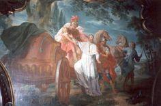Cyprianus van Carthago: Ninove, Abdij Cyprianus wordt gearresteerd.