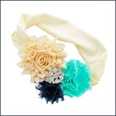 Gather your crafting supplies and join us for some fun on the blog! Glamorous Shabby Flower Headband