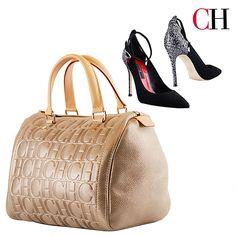 Nueva Colección de Otoño Agrega lujo puro a tu outfit con esta cartera  Wellington bag- bayona y estos zapatos Pump Glither de Carolina Herrera. 1cdbdc09d3ff