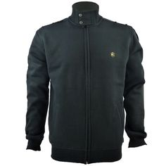 One True Saxon Treliske Fleece Black Jacket 3d927495869f