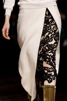 Marios Schwab at London Fashion Week Fall 2013 - Details Runway Photos