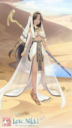 Anime Egyptian, Egyptian Beauty, Egyptian Goddess, Egyptian Art, Egypt Girls, Harem Girl, Anime Witch, Manga Clothes, Anime Dress