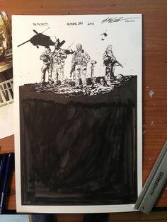 MITCH GERADS ORIGINAL ART STORE — The ACTIVITY Memorial Day 2013 Tribute