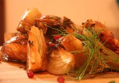 pomegranate chicken for Rosh Hashana!