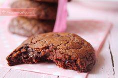 receta galletas de chocolate
