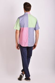 Barbarian Color Short Sleeve Shirt - Eden Park