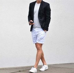 how to wear your favourite short // men's short // menswear // mens accessories // urban men // city boys // watches // blazer // urban life // casual wear //