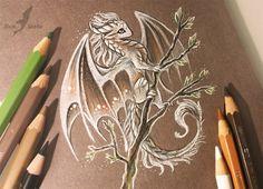 White spring dragon by AlviaAlcedo on DeviantArt